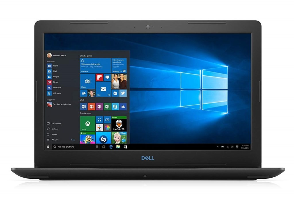 An image showing a Dell G3579-5965BLK-PUS Laptop