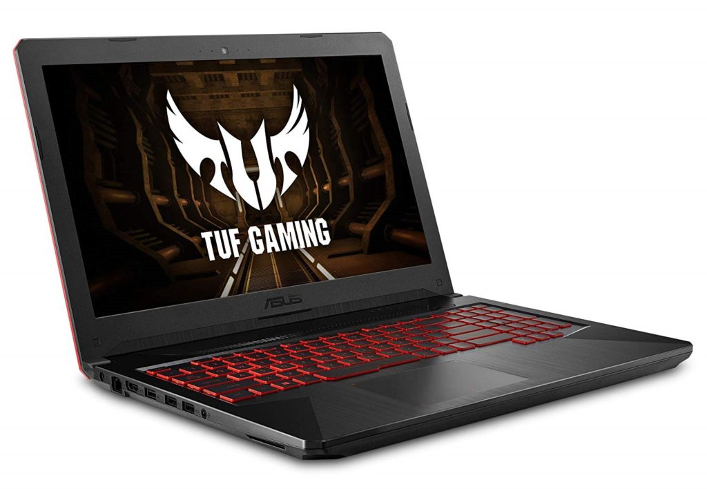 An image showing a ASUS TUF (FX504) Laptop