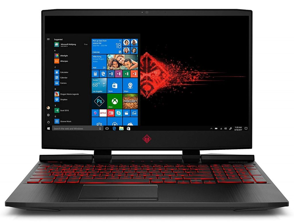 An image of Hp Omen 15t