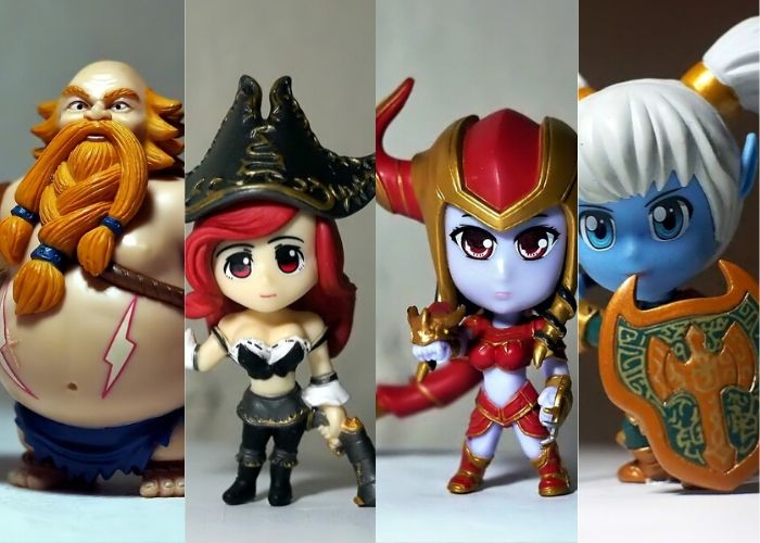 Characters of League Of Legends