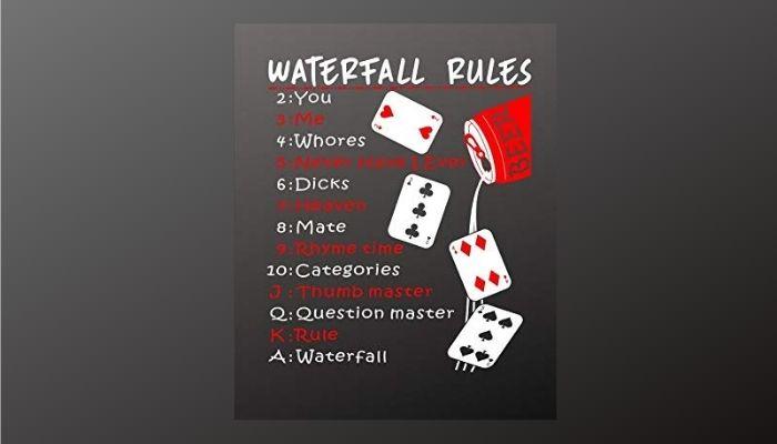 Waterfall Drinking Game